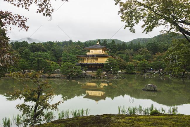 Kinkakuji Golden Pavilion, Kyoto, Japan (Zen Temple)