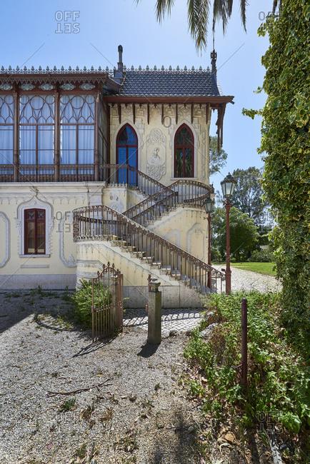 Casa-Museu Carlos Relvas exterior in Golega, Portugal