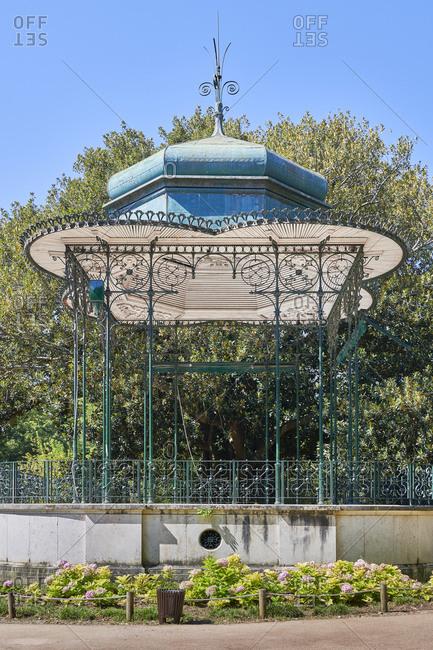 Iron Bandstand in Estrela Garden, Lisbon