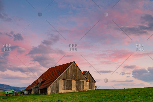 Farmhouse in Turiec region, Slovakia.