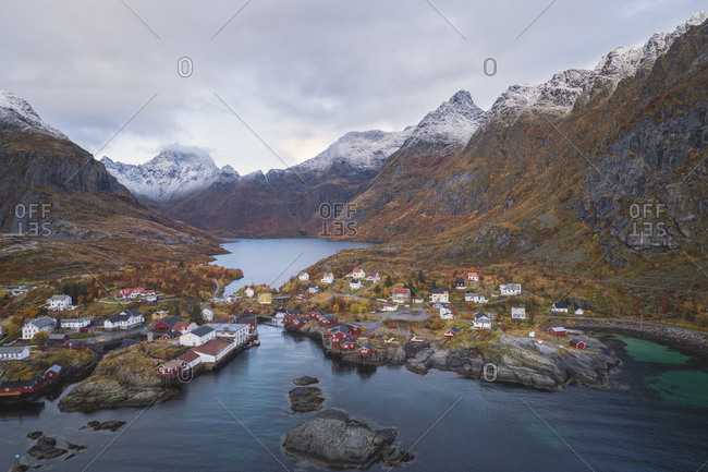 Surroundings of a Norwegian village