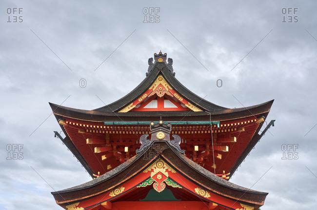 Fushimi Inari Taishais the head shrine of the god Inari, located in Fushimi Ward in Kyoto, Japan.