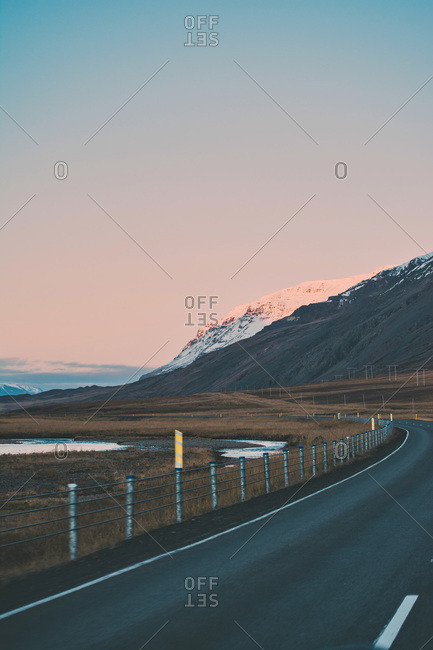 Scenic view of Iceland, amazing landscapes