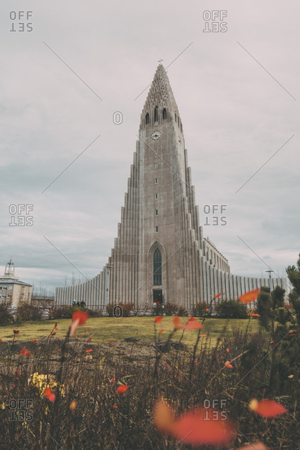 Reykjavik, Iceland - October 15, 2019: Scenic view of Iceland, amazing landscapes
