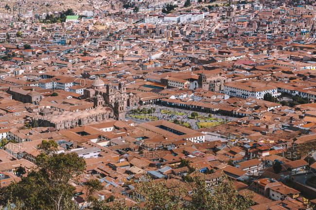Aguas Calientes, Cusco, Peru - July 23, 2018: Traveling around PERU, one of the best cultures