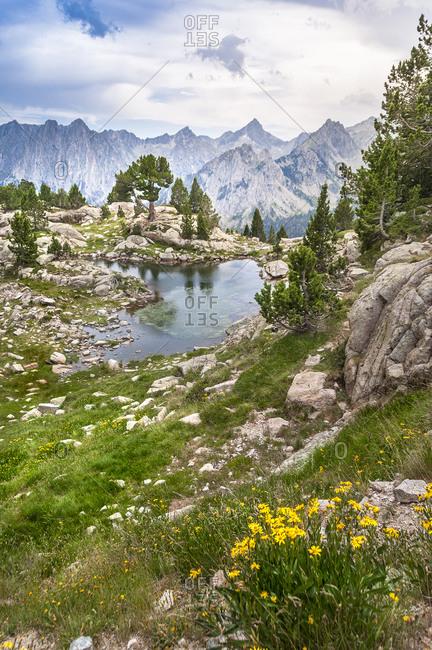 Lake in Aigüestortes Natural Park