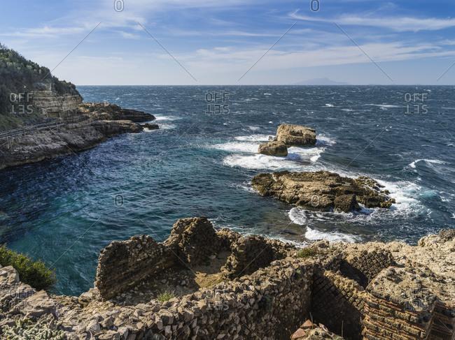 Sea coast at Sorrento, Italy