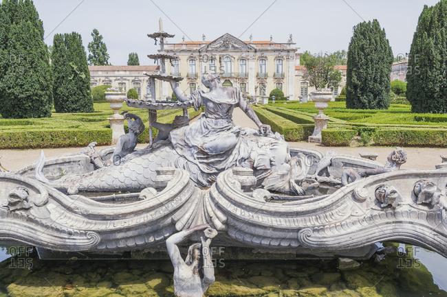 June 22, 2018: Queluz National Palace, Queluz, Lisbon, Portugal, Europe
