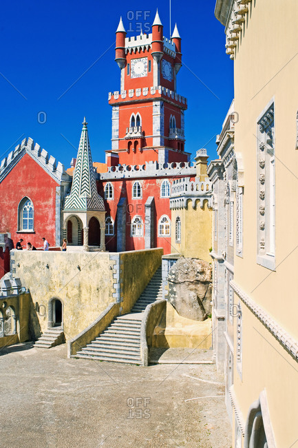 Pena National Palace, Sintra, Portugal, Europe