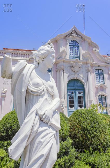 June 23, 2018: Queluz National Palace, Queluz, Lisbon, Portugal, Europe