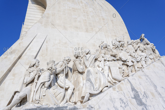 June 11, 2019: Monument of the Discoveries, Belem, Lisbon, Portugal, Europe