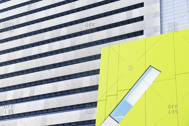 Modern architecture at Brisbane Square, Brisbane, Queensland, Australia