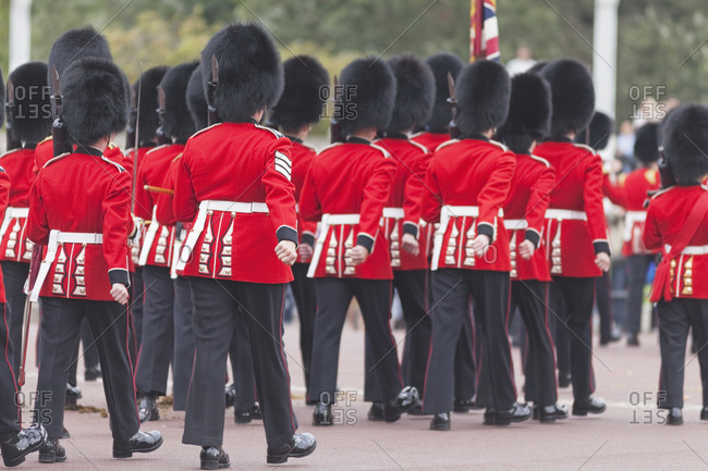 Changing of the Guard, Buckingham Palace, London, England, UK
