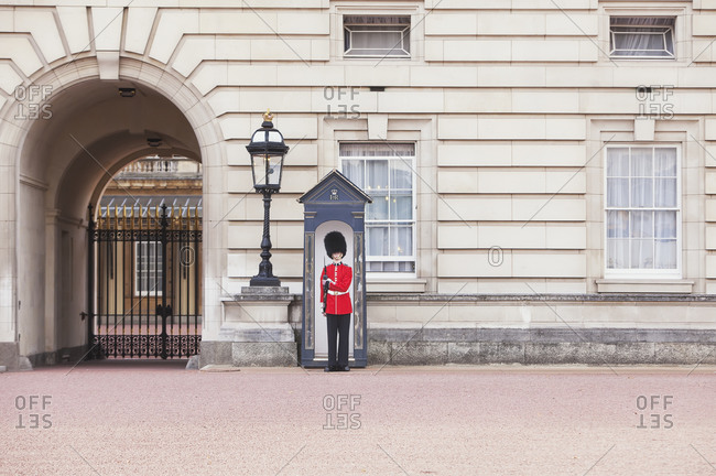 September 21, 2019: Changing of the Guard, Buckingham Palace, London, England, UK
