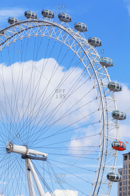 September 25, 2019: London Eye, London, England, UK