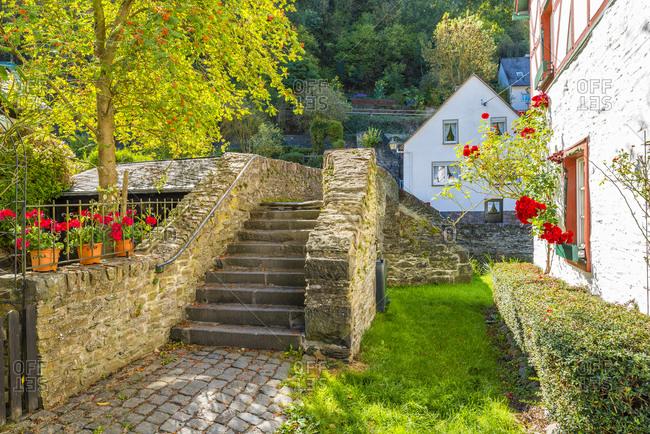Monreal in the Eifel, the most beautiful village in Rhineland-Palatinate