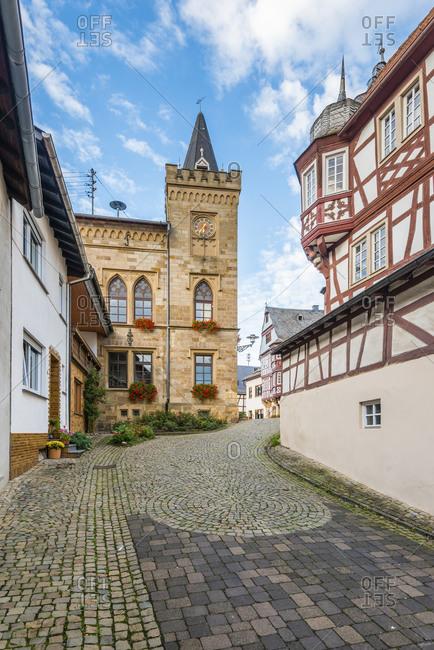 Wine village in Monzingen, Germany