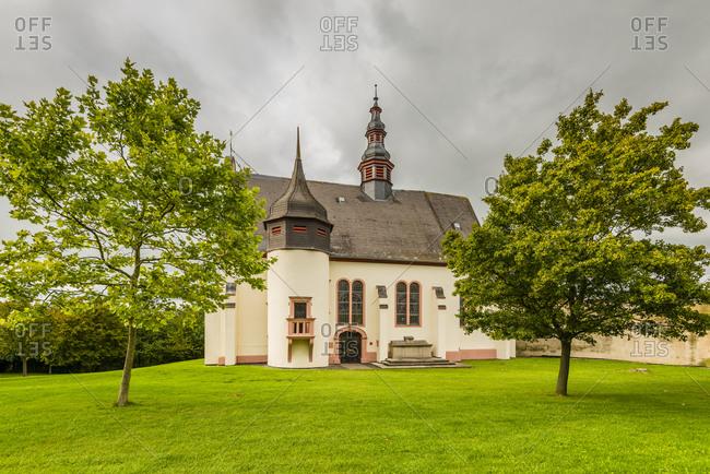 St. Laurenzikirche in Laurenziberg, Rheinhessen