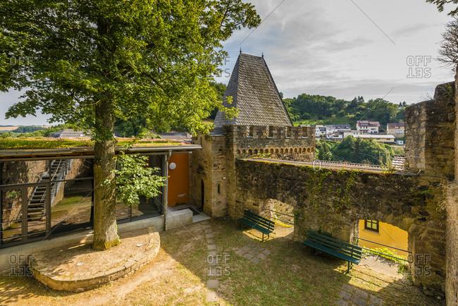 Castle ruins of Dhaun Castle near Hochstetten-Dhaun on the Nahe