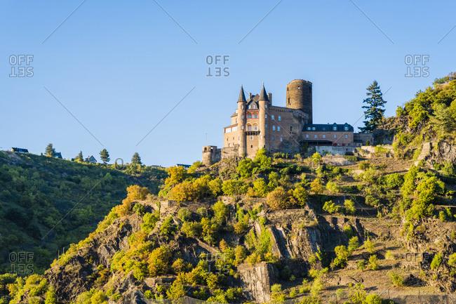 Katz Castle, Rhine, Middle Rhine, Romantic, St. Goar, St. Goarshausen