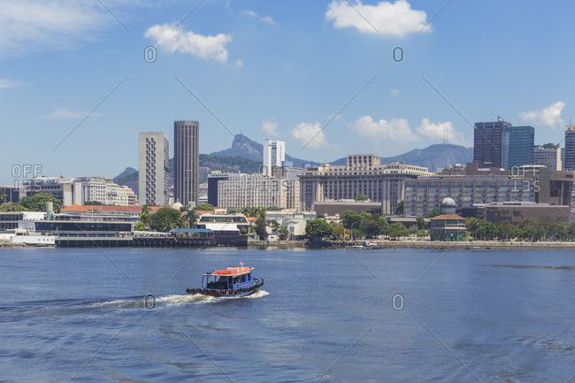 Rio downtown cityscape, Rio de Janeiro, Brazil