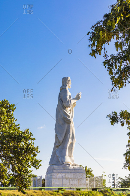 January 11, 2020: Cristo de La Habana (otherwise known as Christ of Havana), Regla Province, Havana, Cuba