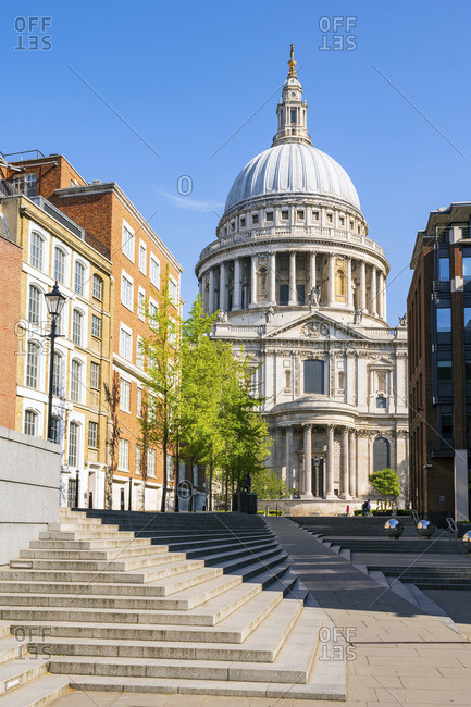 April 26, 2020: St Paul's Cathedral, London, England, UK