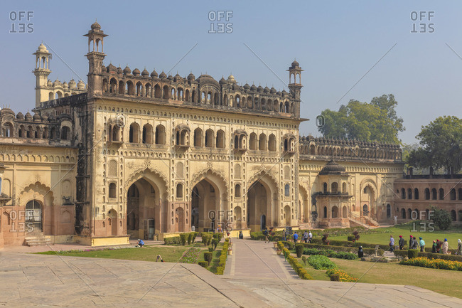Bara Imambara entrance gate, Lucknow, Uttar Pradesh, India