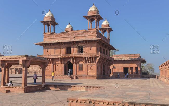 February 14, 2020: Diwan-i-Khas, Fatehpur Sikri, Uttar Pradesh, India