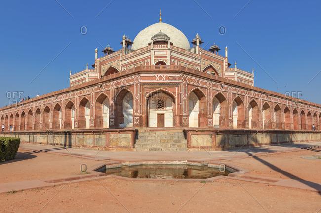 Humayun's tomb, 1570, Delhi, India