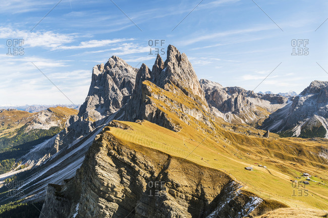 Seceda, Trentino Alto Adidge, South Tyrol, Dolomites, Italy