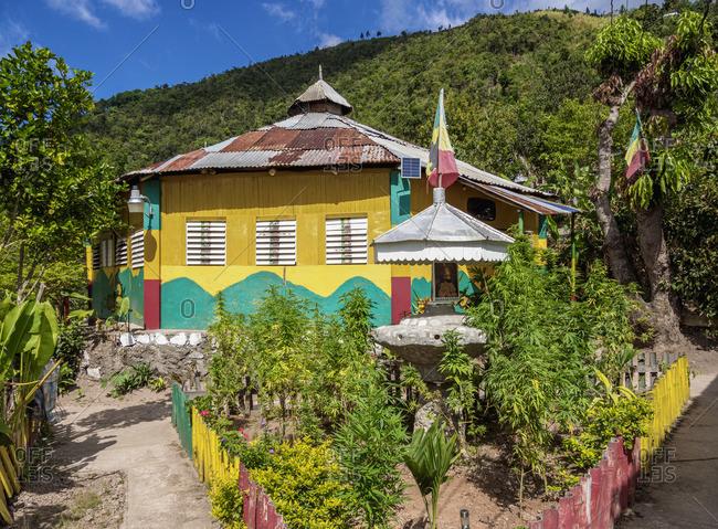 February 14, 2020: Marijuana Garden and School of Vision Temple, Rastafarian Community, Blue Mountains, Saint Andrew Parish, Jamaica