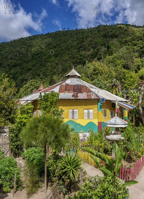 February 14, 2020: School of Vision Temple, Rastafarian Community, Blue Mountains, Saint Andrew Parish, Jamaica