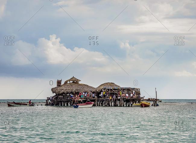 March 1, 2020: Floyd's Pelican Bar, Saint Elizabeth Parish, Jamaica