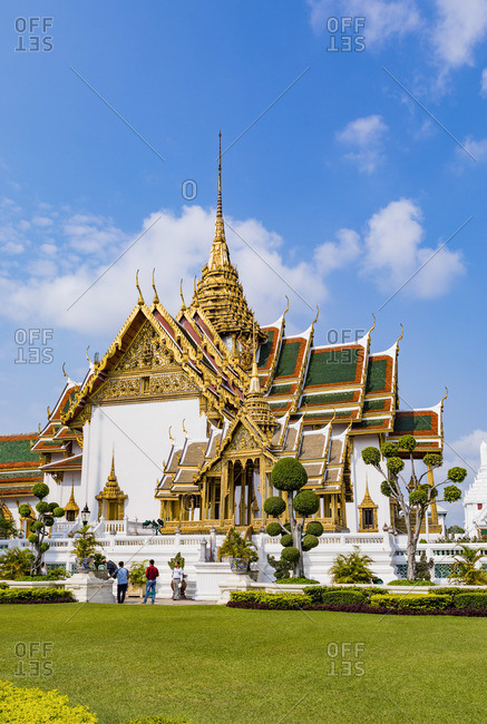 March 7, 2018: Grand Palace in Bangkok, Thailand