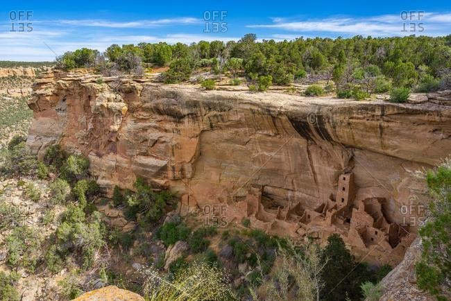 Square Tower House, Mesa Verde National Park, Colorado, United States