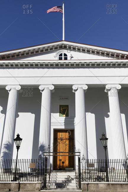 Charleston, South Carolina - March 6, 2019: United States Custom House