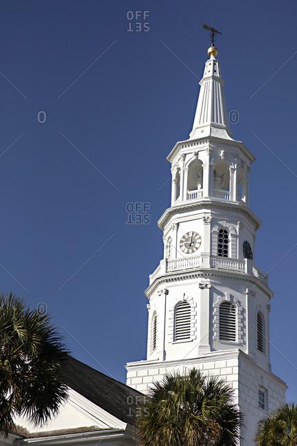 St. Michael's Episcopal Church in Charleston, South Carolina
