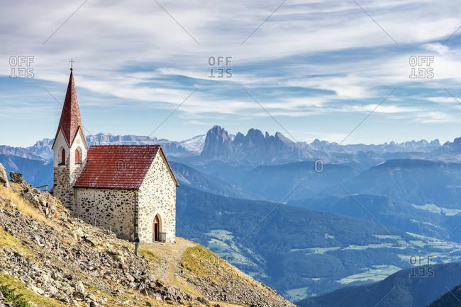 Latzfons, Klausen, Bolzano province, South Tyrol, Italy, Europe.