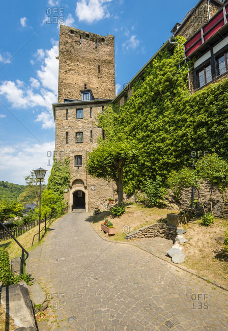 Oberwesel on the Middle Rhine, part of the Unesco World Heritage Upper Middle Rhine Valley