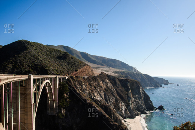 Bixby Bridge in Big Sur, CA