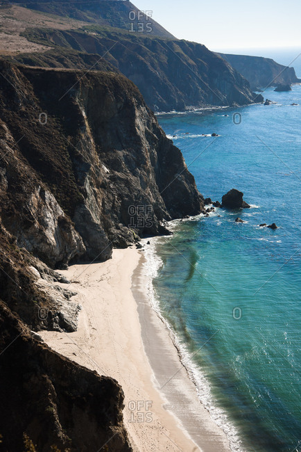 Coastal Beaches in Big Sur, CA
