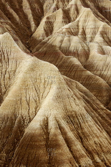 Desert of the Bardenas Reales in Navarra