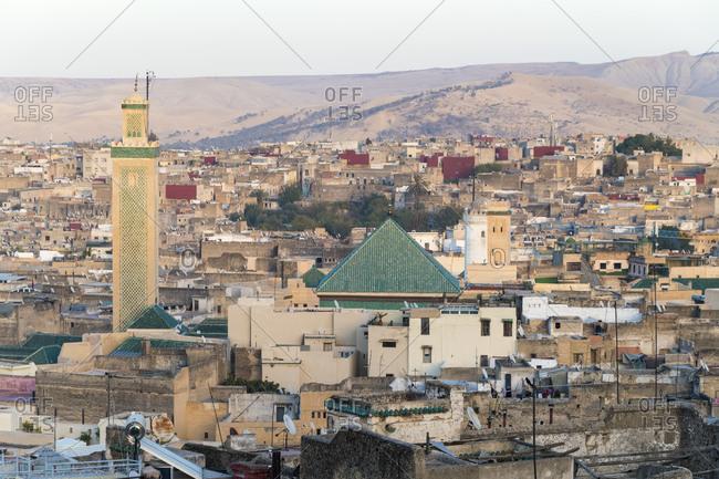 Morocco- Fes-Meknes- Fes- Zaouia Moulay Idriss II inFes el Bali