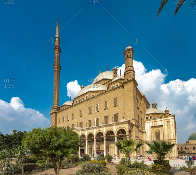 Egypt- Cairo- Mosque of Mohamed Ali Pasha in Citadel of Saladin