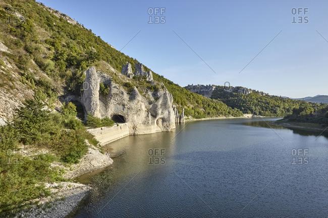 The Wonderful Rocks on the Tsonevo Reservoir near the village of Asparuhovo, Varna Region, Bulgaria