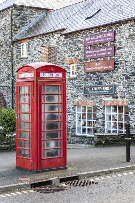 December 4, 2019: Boscastle, Cornwall, England, UK