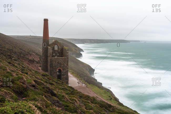 Wheal Coates, Cornwall, England, UK