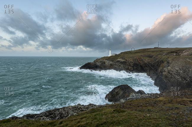 Trevose Head Lighthouse, Cornwall, England, UK