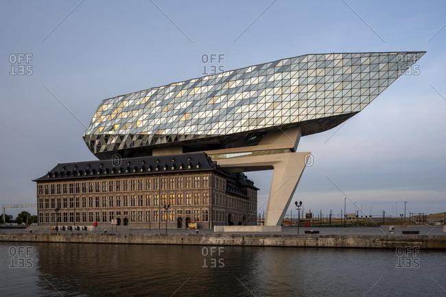 July 21, 2019: Port Authority, Havenhuis, Authority, Antwerp, Flanders, Belgium